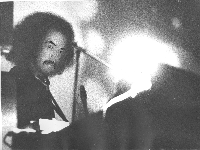 Soft Machine 28 02 1971 foto Einar Braathen med tegning på 0001