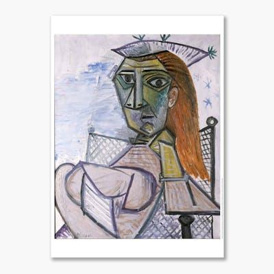 Pablo Picasso, Kvinne i lenestol