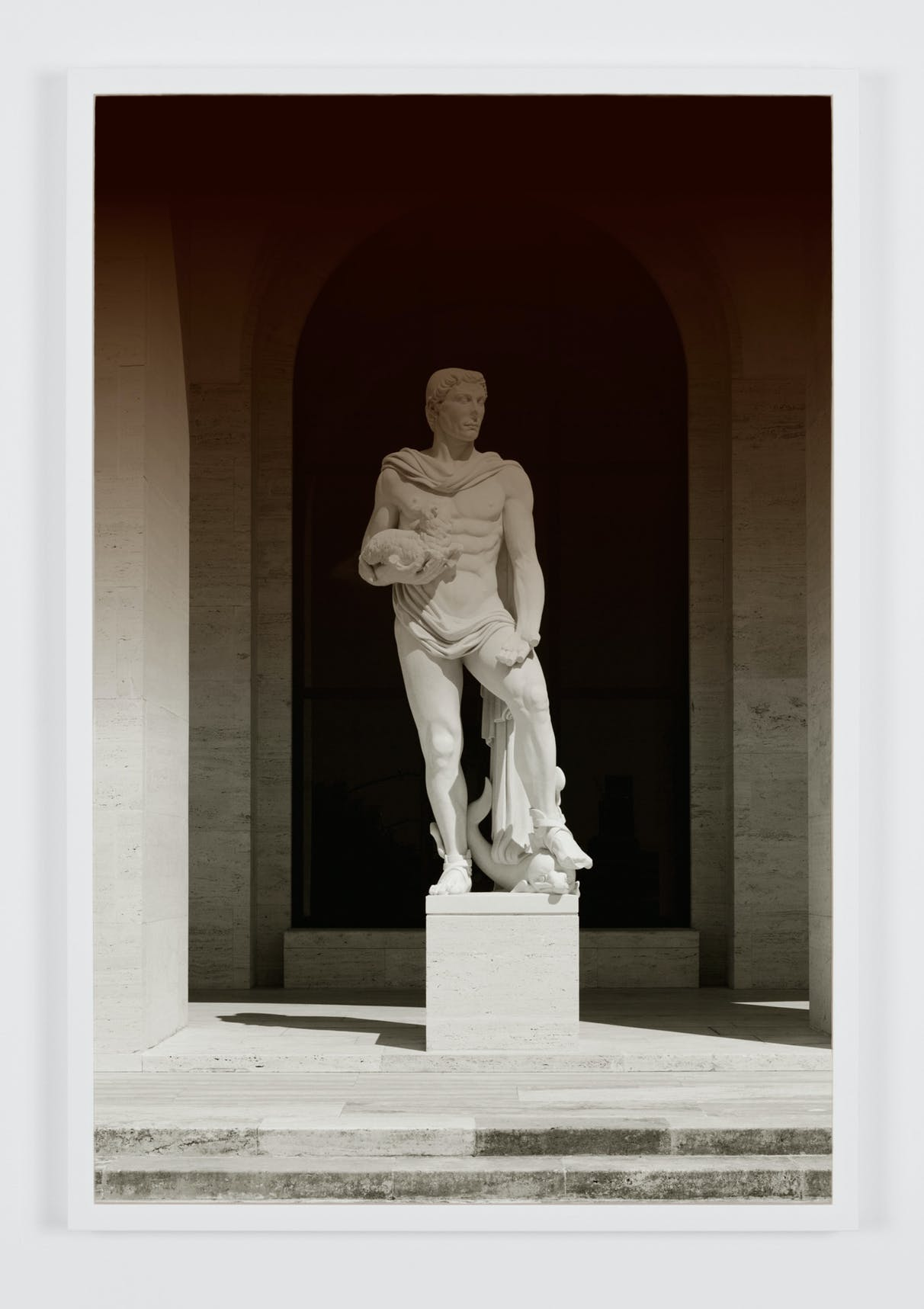 Espen Gleditsch Palazzo della Civilta Ç Italiana 3 2017 40x60 cm archival pigment print foil on glass