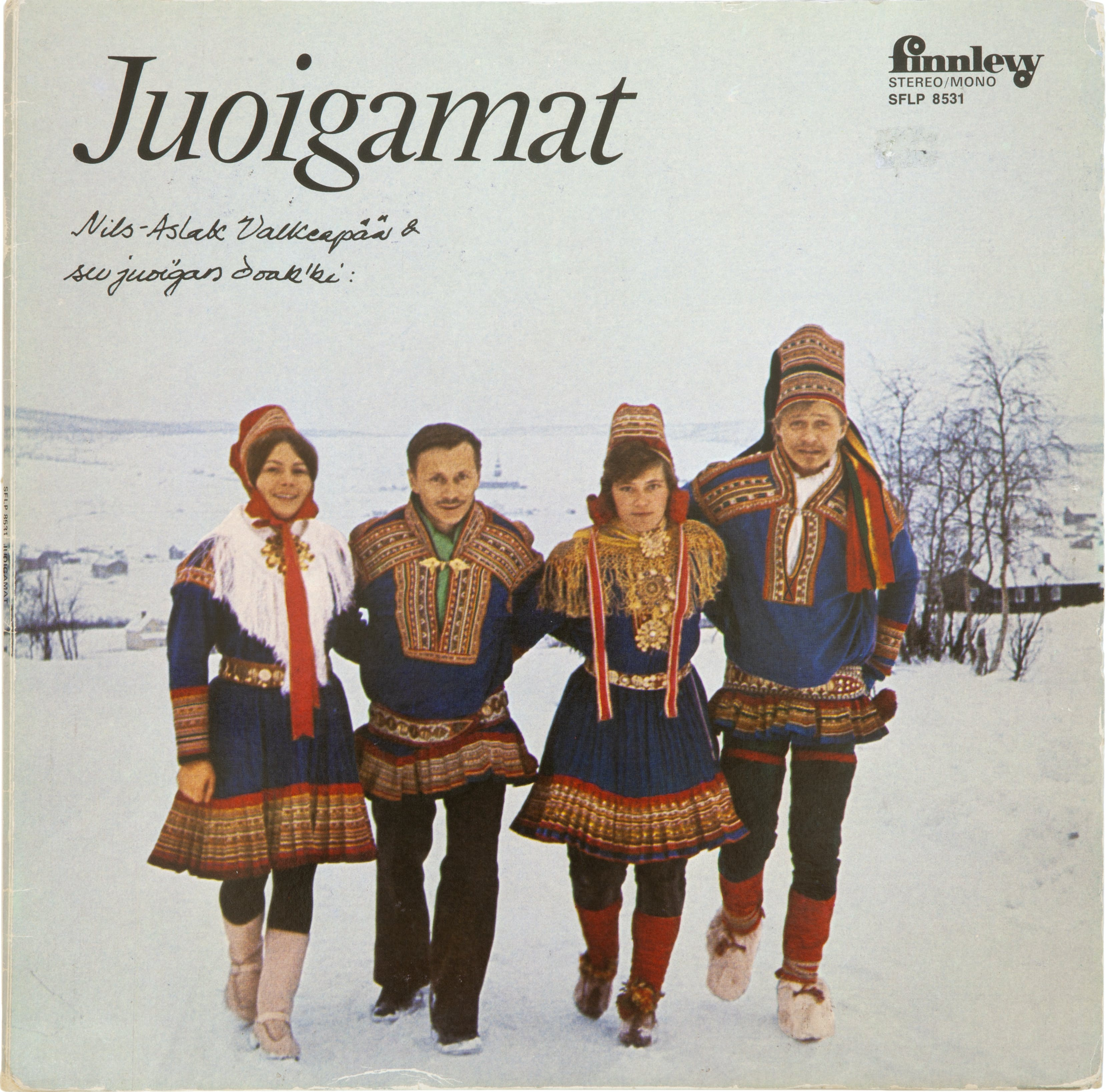 Juoigamat 1973 Foto Ulf Carlsson